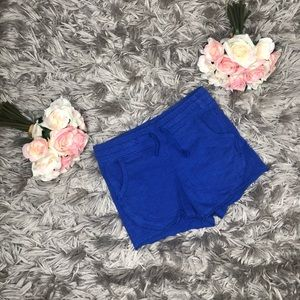 Old navy Blue Shorts Girls Size S 6-7